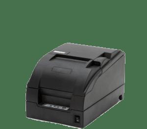 Zonal receipt printer